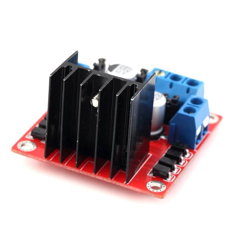 For Arduino Dual H Bridge Dc Stepper Motor Drive Controller Board Module L298n Ebay