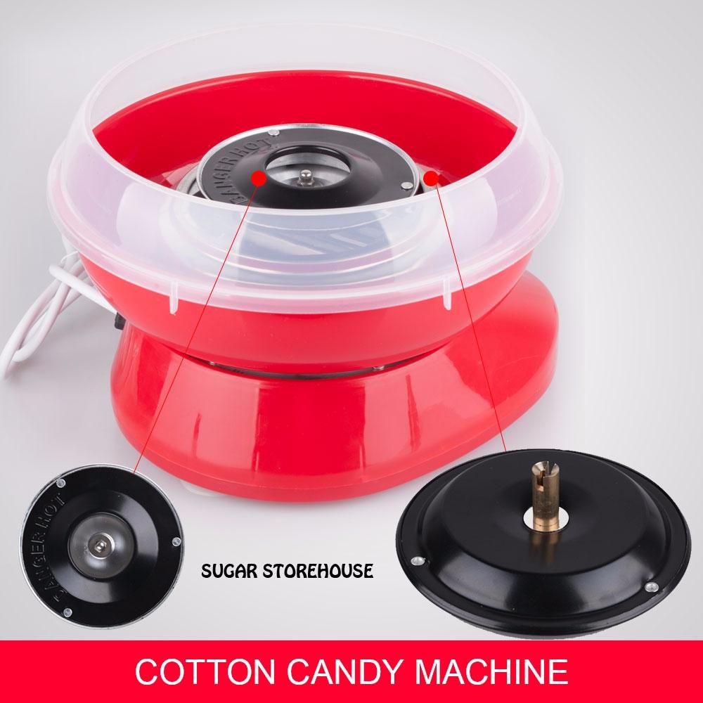 cotton machine floss sugar