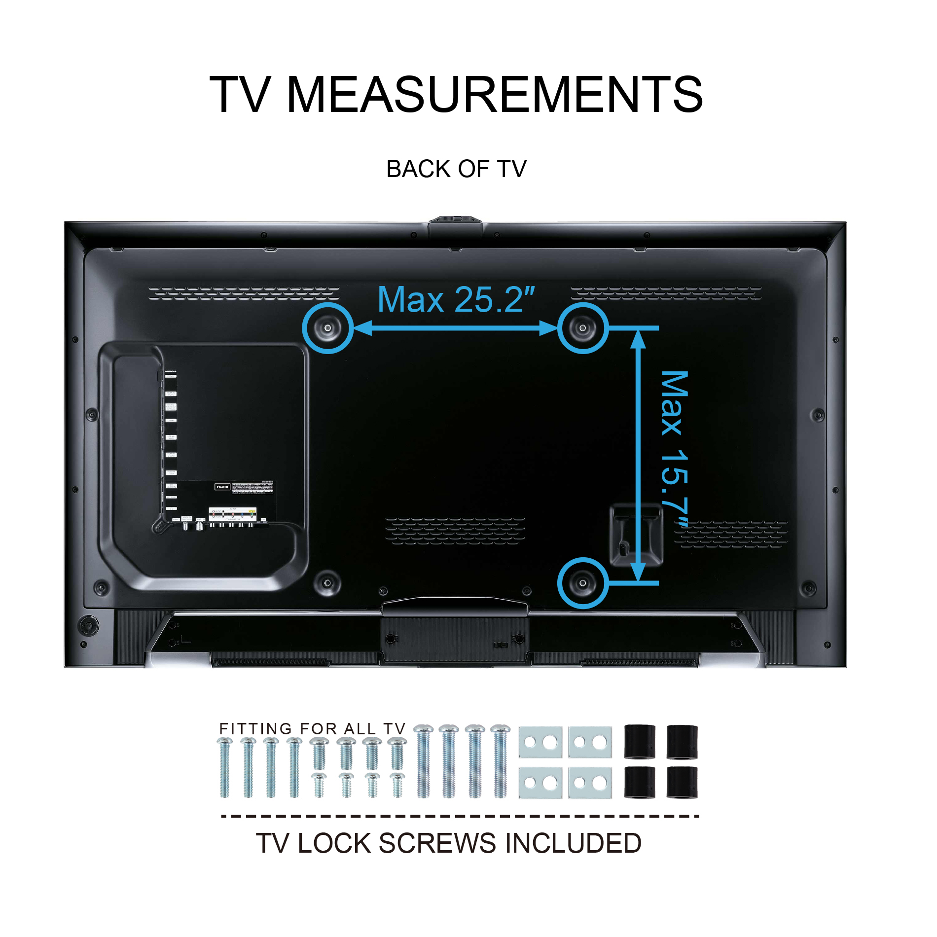 pedestal units universal fitueyes with pin stands wall tv entertainment mount base for stand