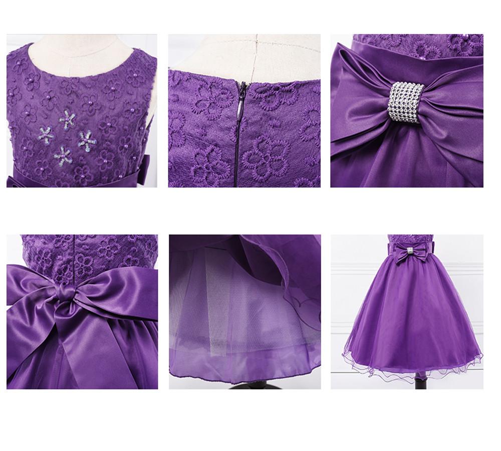 Details zu Blumenmädchen Kleider Mädchen Abendkleid Kinder Kommunions Hochzeit Festkleider