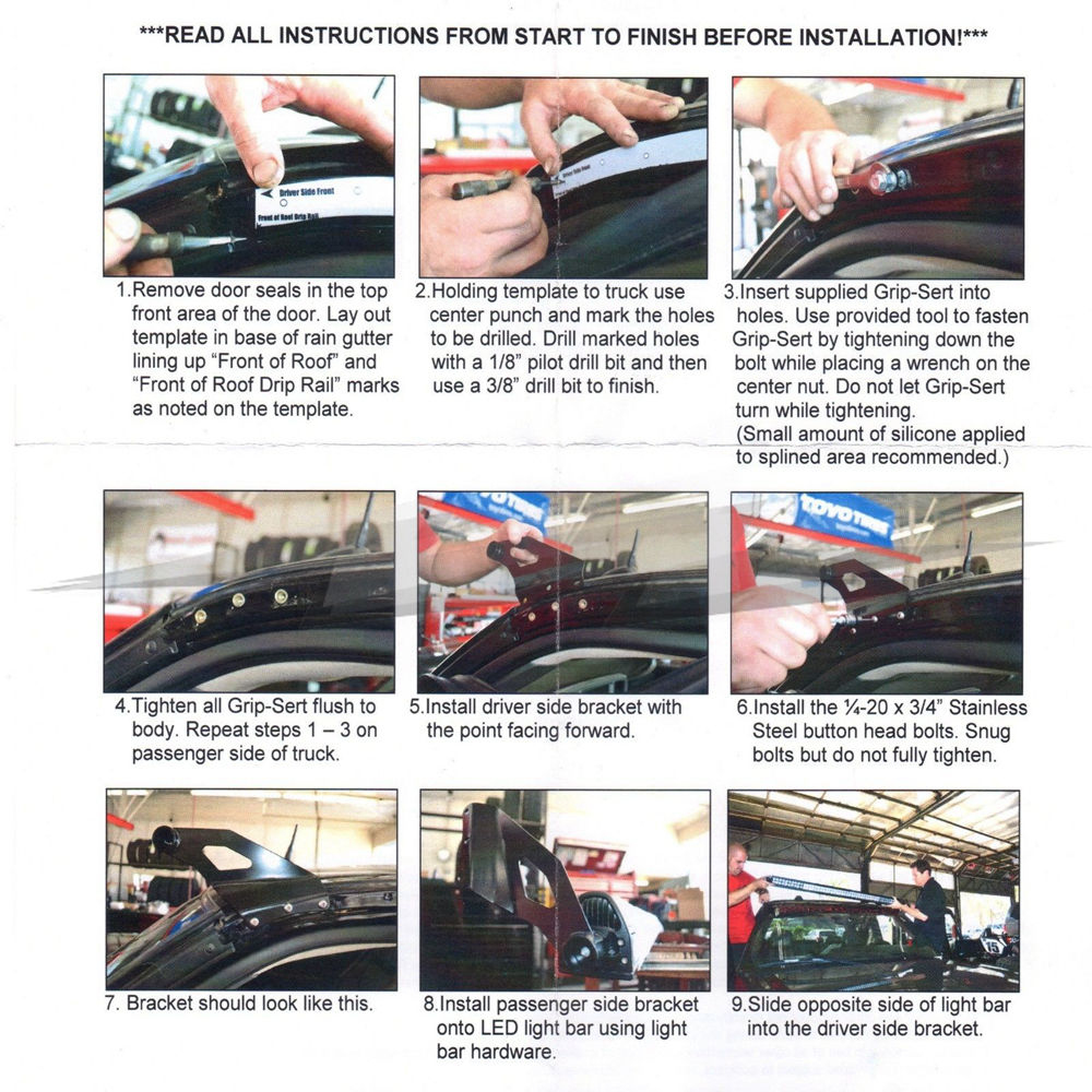 Famous Led Light Bar Wiring Instructions Ideas - Everything You Need ...